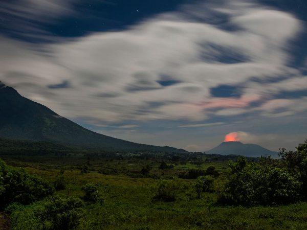 Sunset in DRC