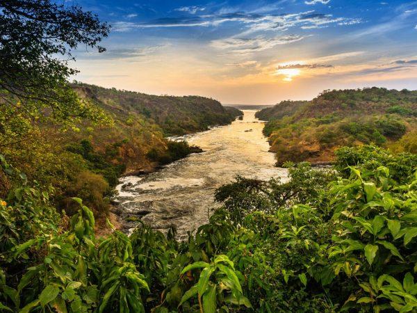 Nile River, Murchison Falls National Park, Uganda